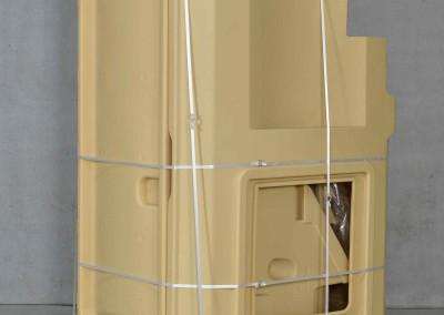 Logistik Sani Solar - Komplett auf einer Palette verpackt