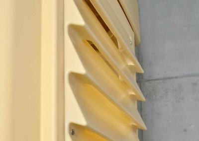 side ventilation